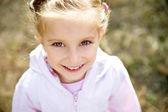 Beautiful liitle girl — Stock Photo