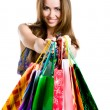 Woman with shopping bags — Stock Photo #7273746
