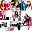 Stockfoto: Pretty womans in the shop