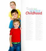 Bambini piccoli — Foto Stock