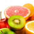 Big assortment of fruits — Foto de Stock