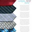 Ties background — Stock Photo #7906794