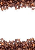 браун жареного кофе в зернах — Стоковое фото