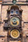 Zegar astronomiczny. praga. — Zdjęcie stockowe