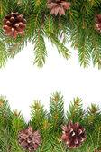 рождественские рамки — Стоковое фото