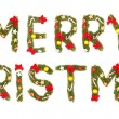 Marry christmas greeting. — Stock Photo
