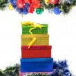 Christmas decoration and gift - Foto Stock
