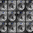 Speakers seamless background. — Stock vektor