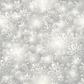 Snowflake seamless background. — Fotografia Stock