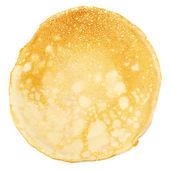 Pancake isolated on white background. — Stock Photo
