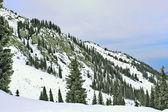 Górski krajobraz, azji środkowej, kazachstan — Zdjęcie stockowe