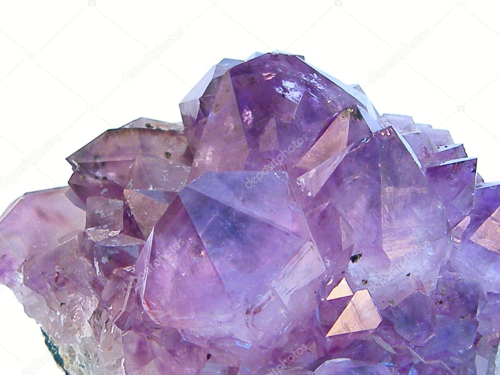 Crystal gem amethyst  Stock Photo #7222470