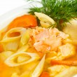fish soup — Stock Photo