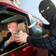 Stock Photo: Robbery of businessman