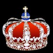 Crown with brilliants — Stock Photo #7659049