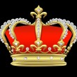 Stock Photo: Crown with pearls