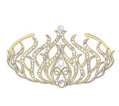 Woman crown — Stock Photo
