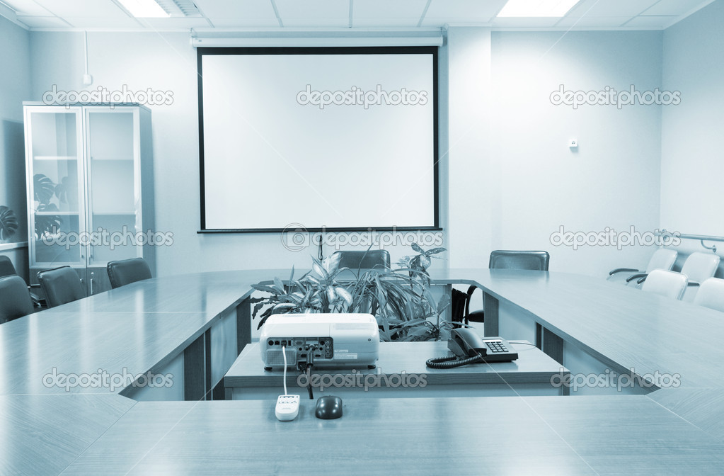 Business meeting room in office  Stock Photo #6837721