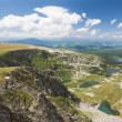 Top view of Karakol lakes in Altai mountains. — Stock Photo