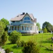 Stock Photo: Beautiful country house
