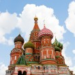 Cathedral of Vasily the Blessed in the Heaven — Stock Photo