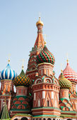 St. Basil (Cathedral of the Protection of the Virgin on the Ditch) Moscow — Stock Photo