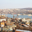 View of Vladivostok and the Golden Horn - Stock Photo