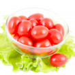 Tomatoes and lettuce - Stock Photo
