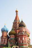 храм василия блаженного (собор покрова богородицы на рва) москва — Стоковое фото