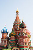 St. Basil (Cathedral of the Protection of the Virgin on the Ditch) Moscow — Foto Stock