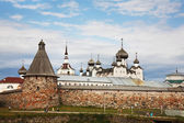 Kind on the Solovetsky monastery. — Stock Photo
