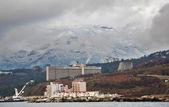 Kind to winter Yalta — Stock Photo