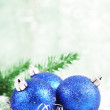 Foto Stock: Christmas-tree decorations.