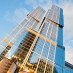 Modern skyscrapers — Stock Photo