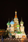 St Basil's Church on the Red Square in Moscow — Stock Photo
