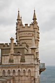 Well-known castle Swallow Nest near Yalta in Crimea, Ukraine — Stock Photo