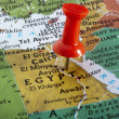 Map of Egypt - Stock Photo