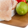 Raw Chicken Breast — Stock Photo
