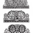 Royalty-Free Stock Vector Image: Ornament in the Gothic style
