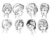 Women Vector illustration — Stock Vector