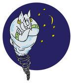 神话般的精灵 — 图库矢量图片