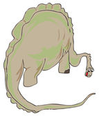 Dinosaur Character — Stock Vector