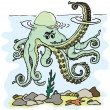 Royalty-Free Stock Vector Image: Octopus image
