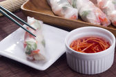 Spring Roll Sauce — Stock Photo