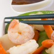 asian meal — Stock Photo