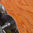 Gear Mechanism — Stock Photo