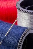 Makro des threads — Stockfoto