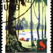Post stamp devoted to forest protection — стоковое фото #7088220