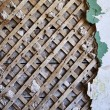 Old lath and plaster background — Stock Photo