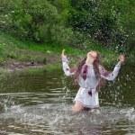 Charming folk mermaid — Stock Photo #7614136